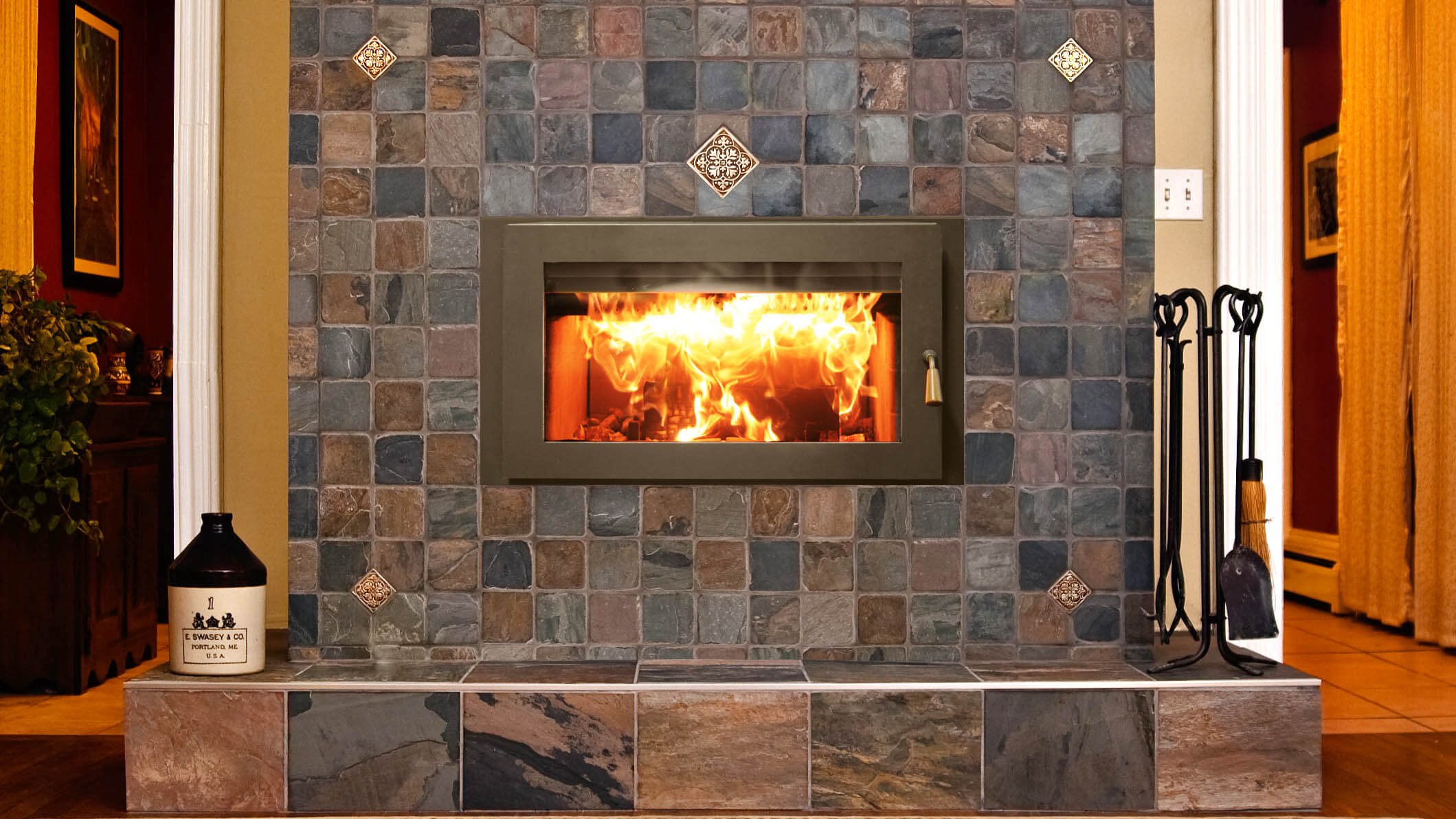 wood fireplaces cedar hearth mick gage plumbing u0026 heating
