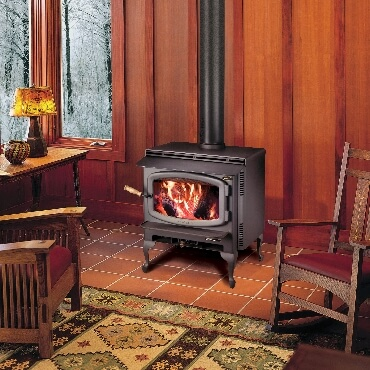 Avalon Rainier Wood Stove Cedar Hearth Mick Gage