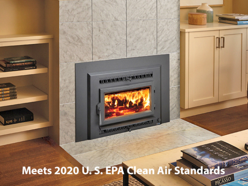 Fireplace Xtrordinair Small Flush Wood Hybrid Fyre Wood