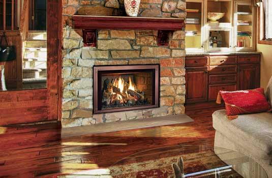 White Fireplace Mantels With Brick